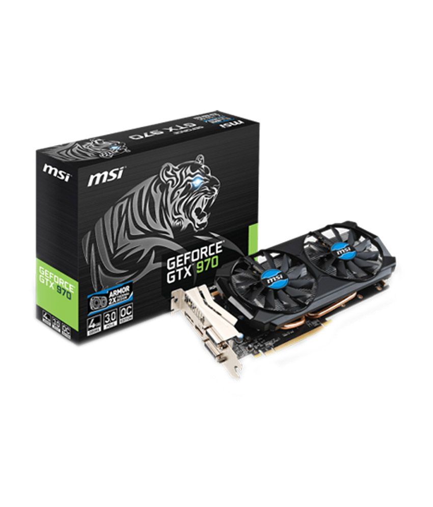 MSI NVIDIA 4 GB DDR5 Graphics card