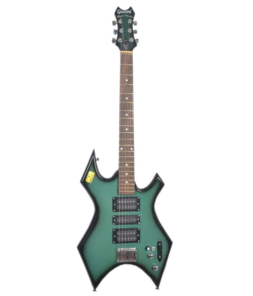 givson black mamba electric guitar buy givson black mamba electric guitar online at best. Black Bedroom Furniture Sets. Home Design Ideas