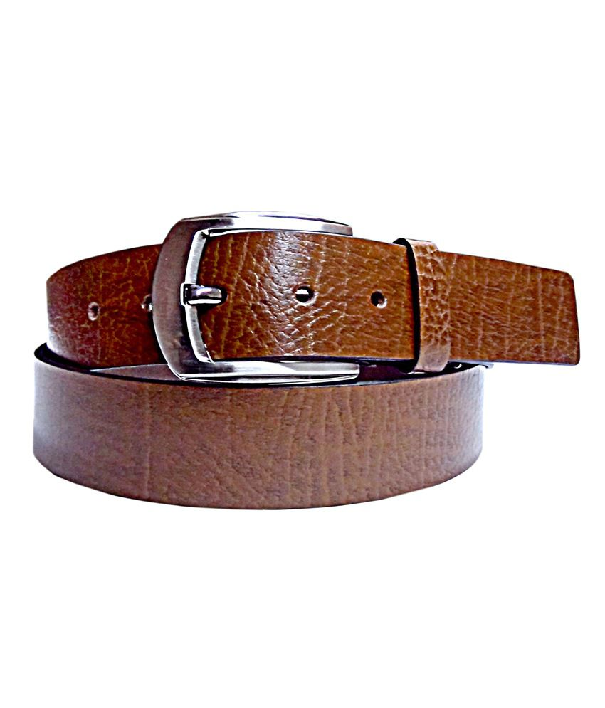 100% Pure Lather Belt With Stylist Kanta Buckle