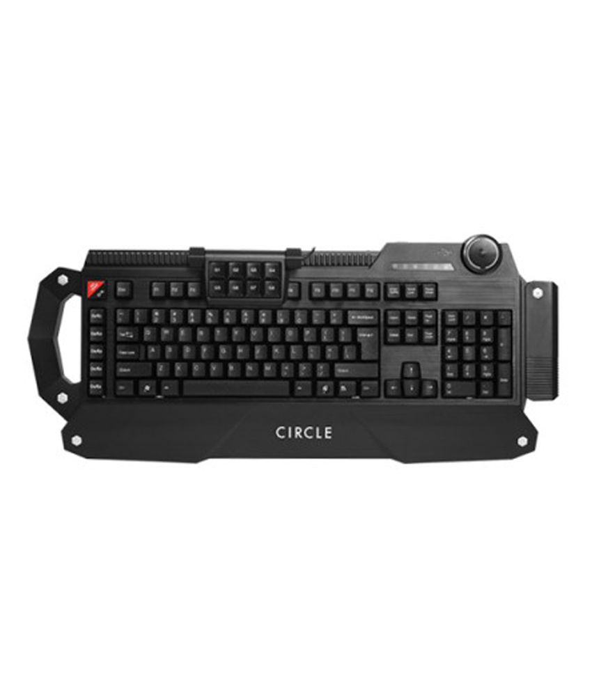Circle Circle Ballistic USB Keyboard With Wire