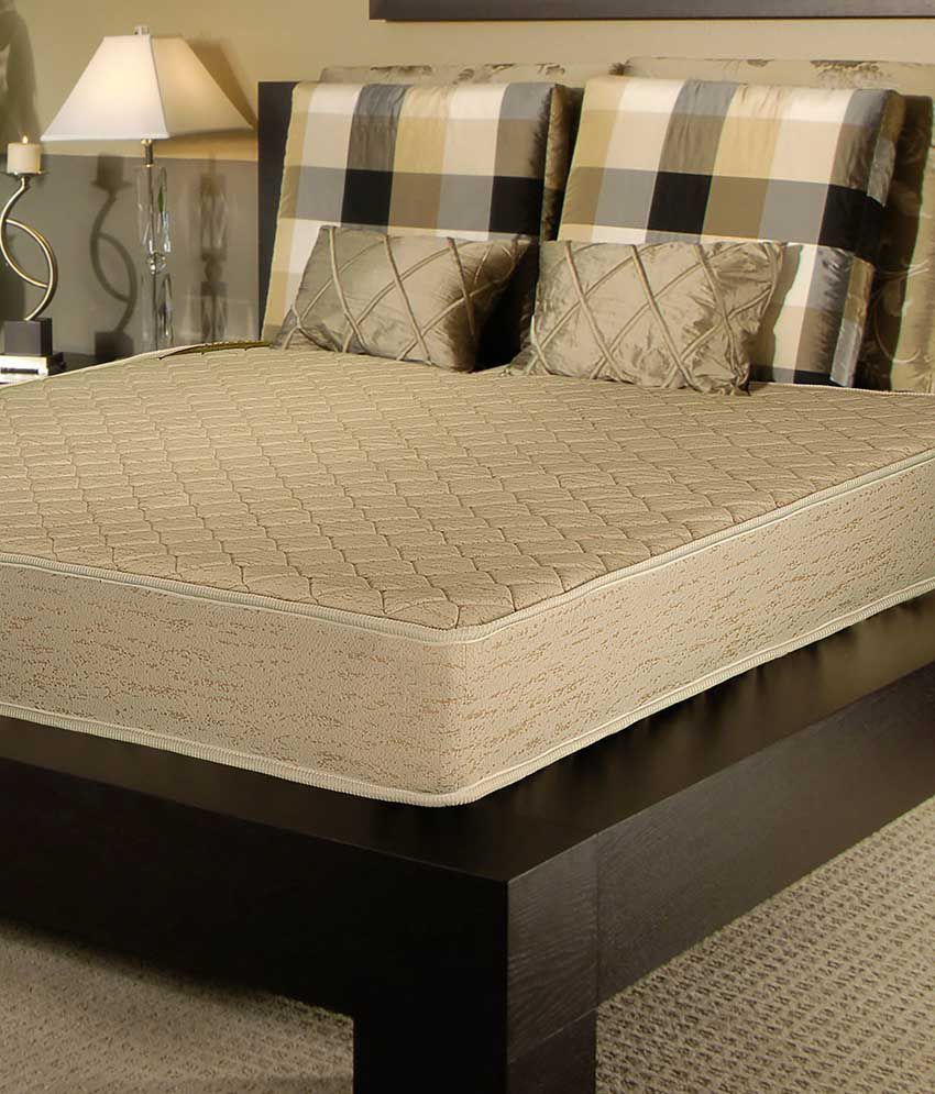 kurl on queen size orthopaedic foam mattress 78x60x5 inches buy kurl on queen size. Black Bedroom Furniture Sets. Home Design Ideas