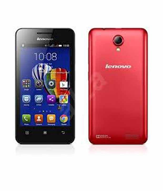 Lenovo A319 Red Mobile Phones Online At Low Prices