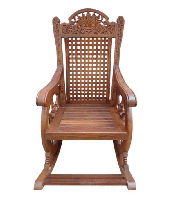 ... Sheesham Wood Recliner Chair in Brown ...  sc 1 st  Snapdeal & Sheesham Wood Recliner Chair in Brown - Buy Sheesham Wood Recliner ... islam-shia.org