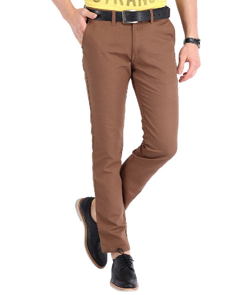 Highlander Brown Slim Casuals