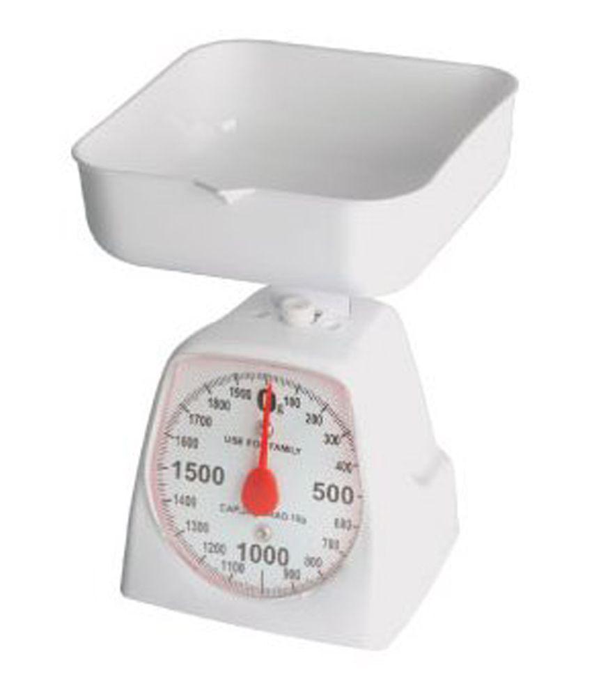 Bismillah Traders Kitchen Weight Machine White
