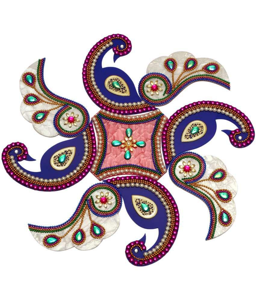 creative home decor peacock rangoli acrylic buy creative home creative home decor peacock rangoli acrylic