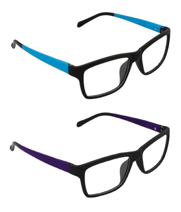 c9d4a1d55d8 Glaze Iwear Combo Purple And Aqua Blue Double Coloured Quality Eyeglasses - Buy  Glaze Iwear Combo Purple And Aqua Blue Double Coloured Quality Eyeglasses  ...