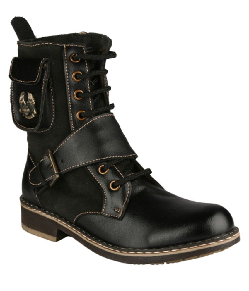 I-shoes Black Boots
