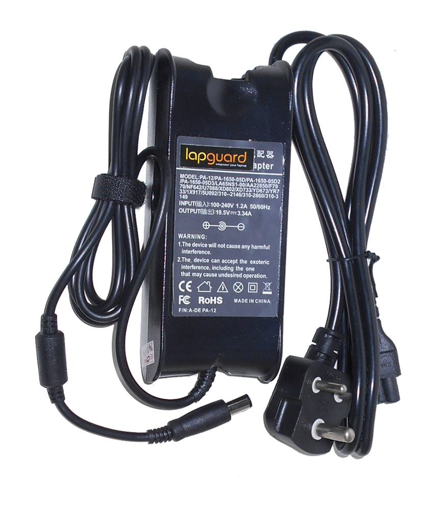 Lapguard Laptop Charger For Ei Systems 1000 1201 1412 3000 3086 19.5v 3.34a 65w Connector