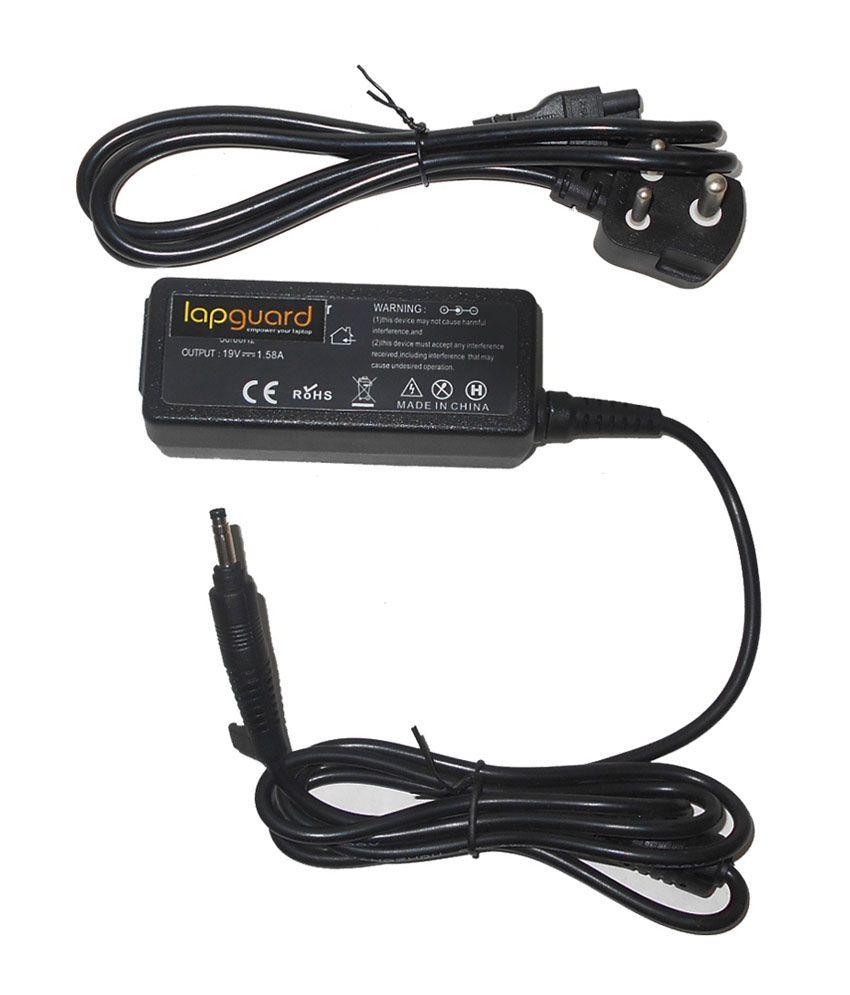 Lapguard Laptop Charger For Hp Mini 110-1140la 110-1140sa 19v 1.58a 30w Connector