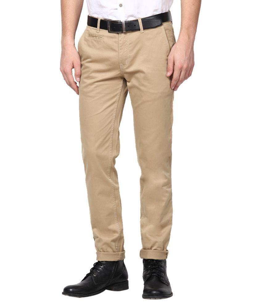 Tng New York Khaki Slim Casuals