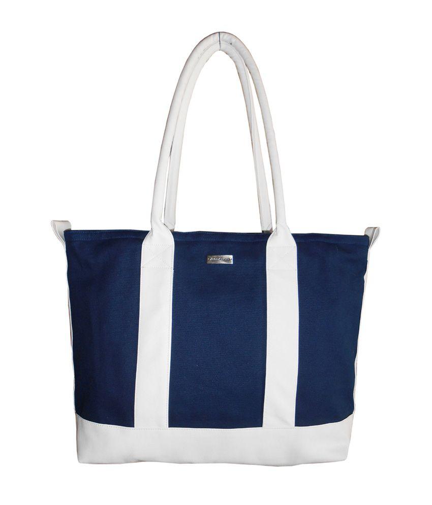 Archor Blue Designer Shoulder Bag