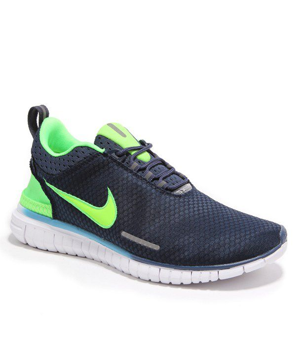 8f85964d9fc7 Nike Navy Color Men Sport Shoes - Buy Nike Navy Color Men Sport Shoes  Online at Best Prices in India on Snapdeal