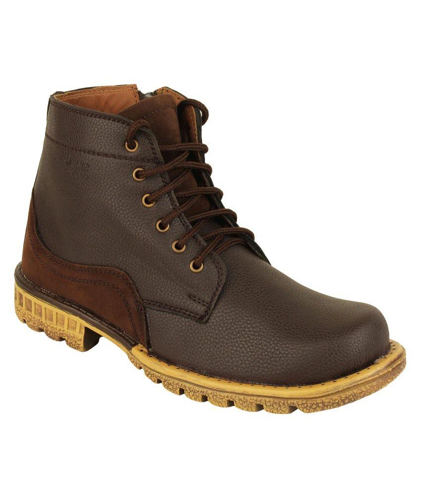 Randier Brown Boots