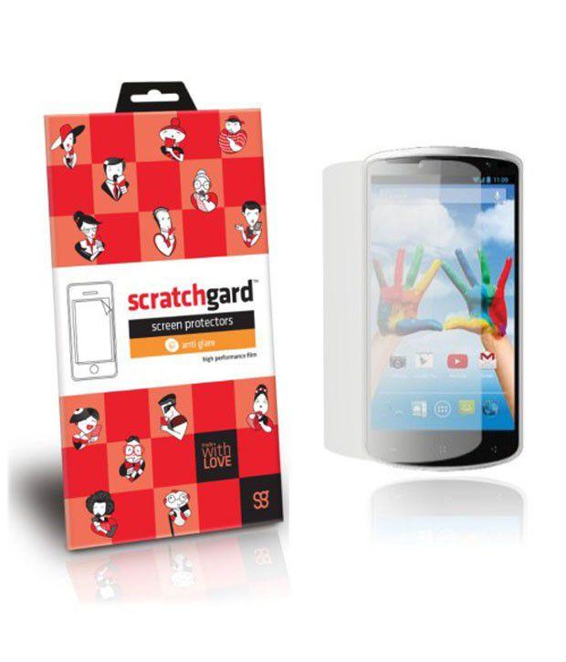 Scratchgard Hd Anti Glare Screen Protector For Karbonn Titanium X