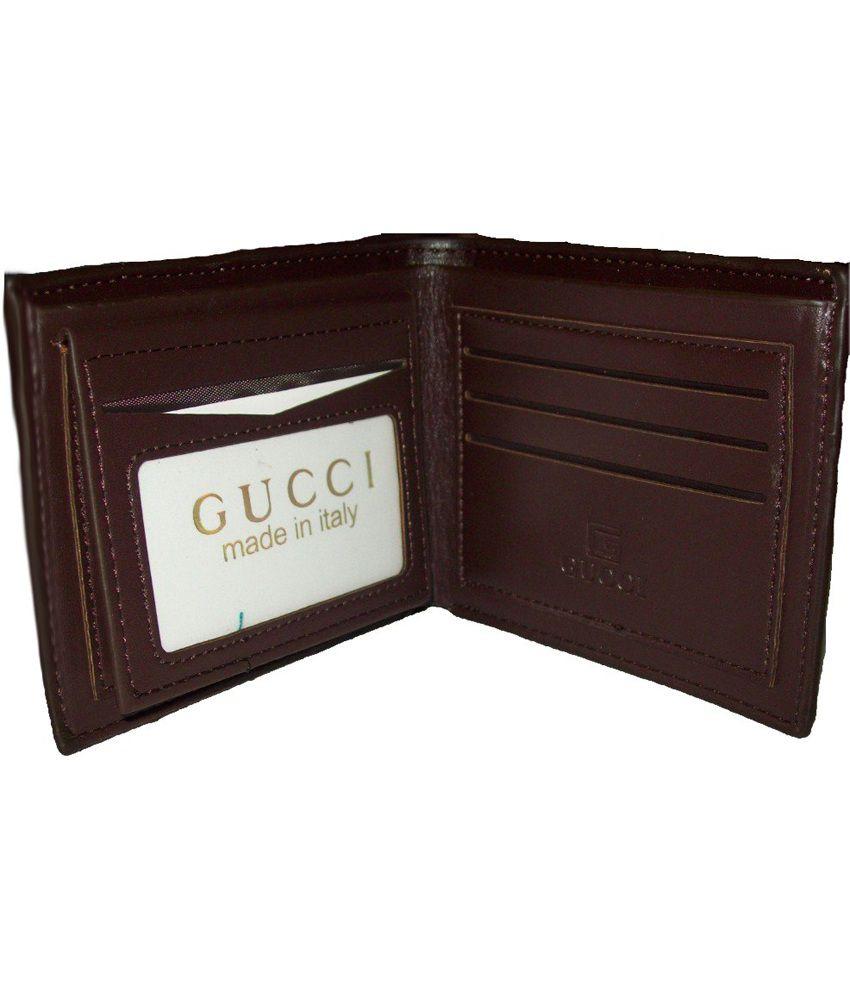 f13871f18fcf Gucci Men's Designer Leather Wallet Gucci Men's Designer Leather Wallet ...
