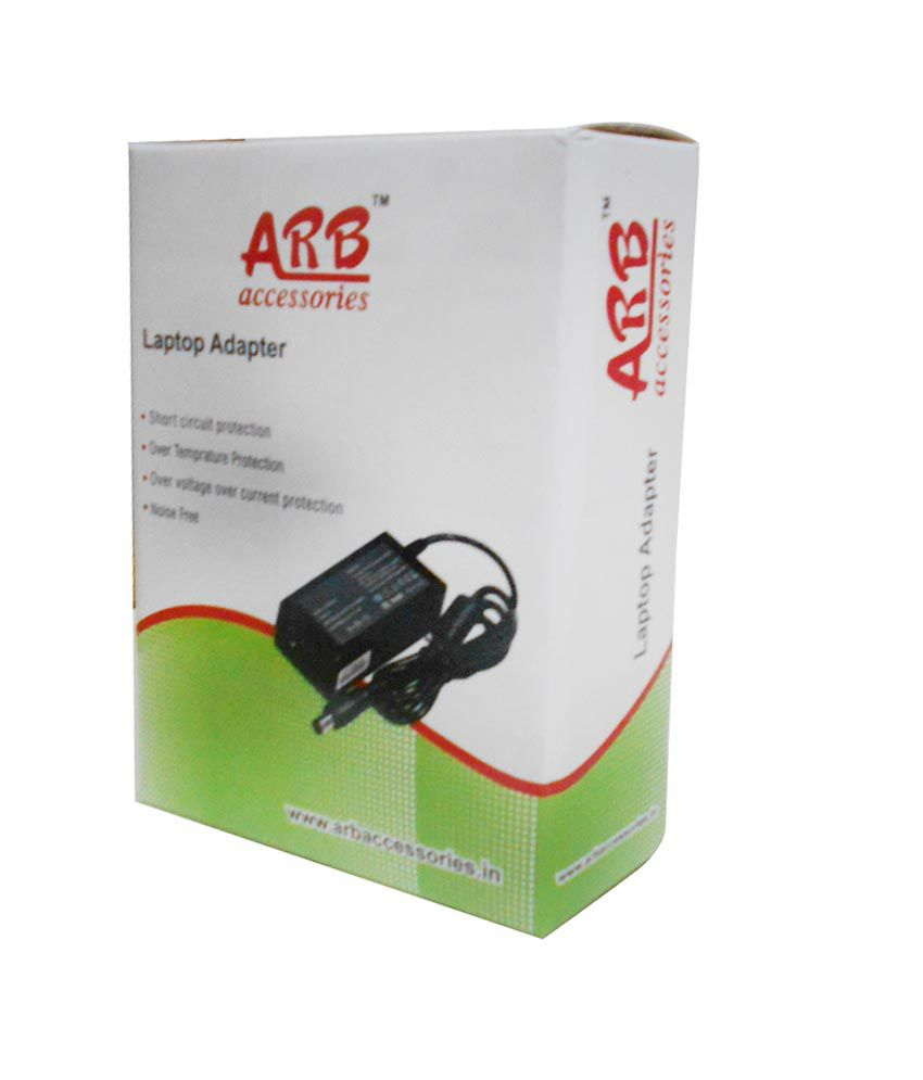 Arb Laptop Adapter For Asus Eee Pc 1215p 1215t 19v 2.1a 40w Connector