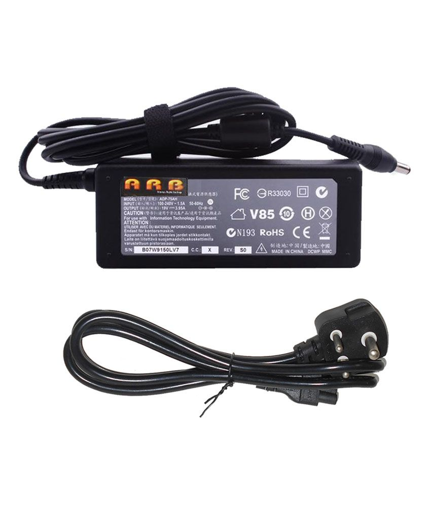 Arb Laptop Adapter For Toshiba Satellite L300-299 L300-29c L300-29d 19v 3.95a 75w Connector