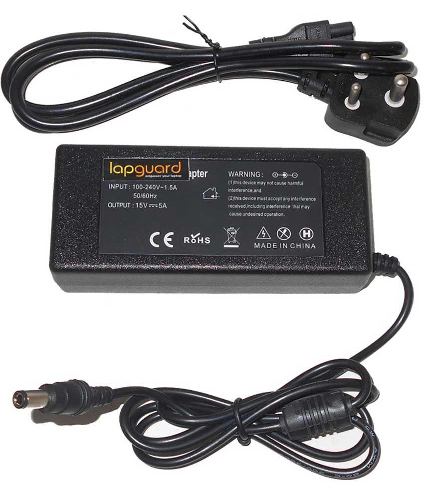 Lapguard Laptop Adapter For Toshiba Tecra A4-179 A4-181 A4-196 A4-201, 19v 3.95a 75w Connector