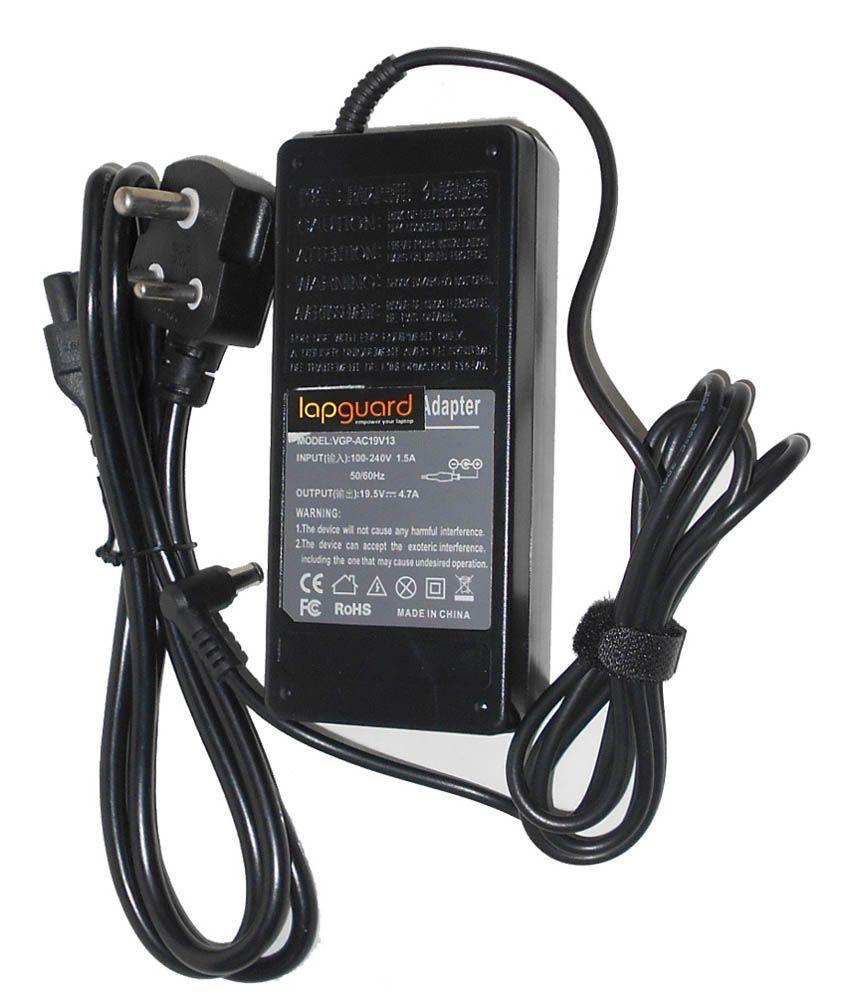 Lapguard Laptop Charger For Asus Z96js Z99dc Z99e Z99f Z99fm Z99h 19v 4.74a 90w Connector Pin:5.5 X 2.5 Mm With 1Year Warranty