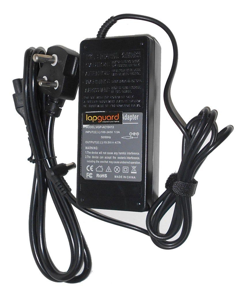 Lapguard Laptop Charger For Samsung Np-r510-fs06de Np-r510-fs07de 19v 3.16a 60w Connector