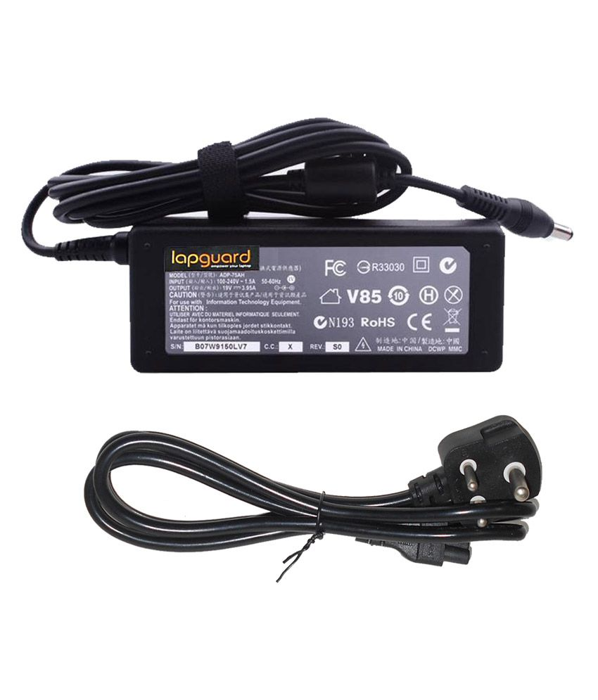 Lapguard Laptop Charger For Toshiba Satellite A200-27r A200-27z 19v 3.95a 75w Connector
