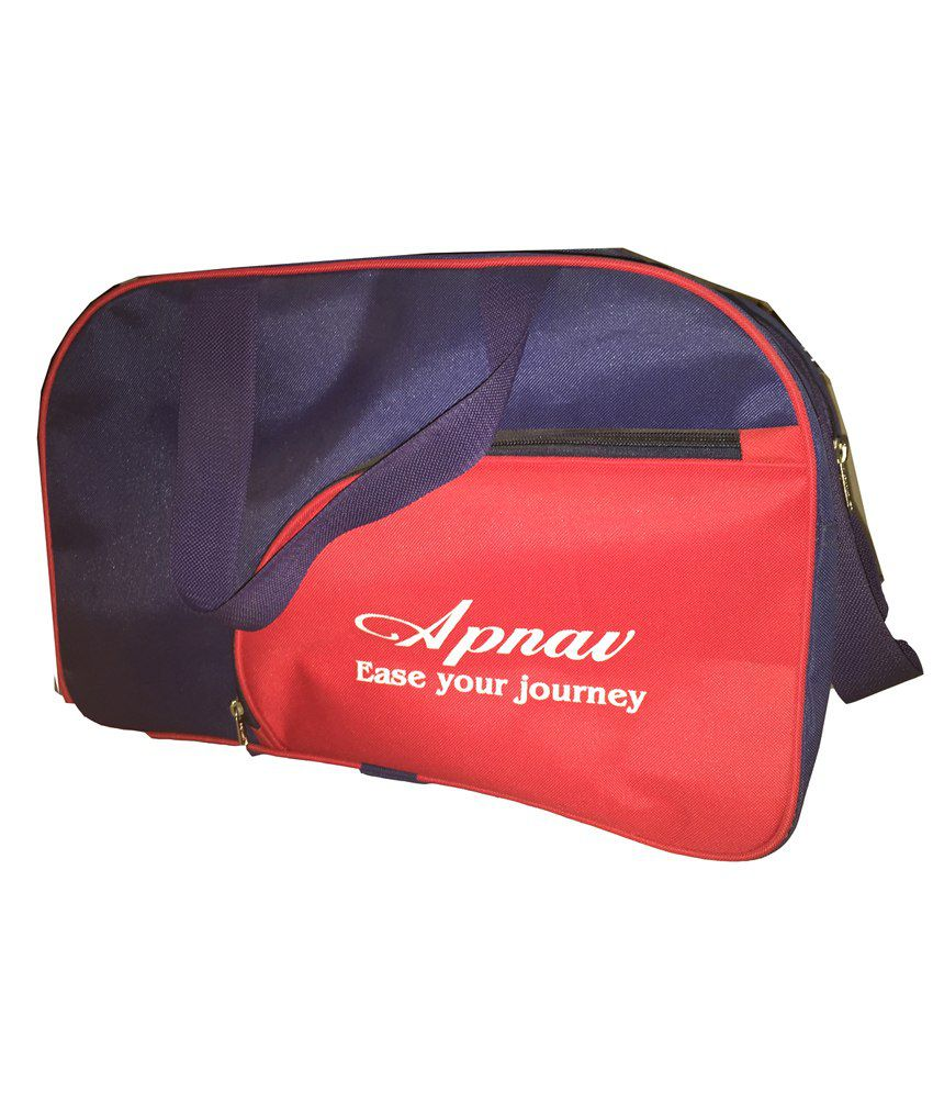 Apnav Blue-red gear Gym Bag