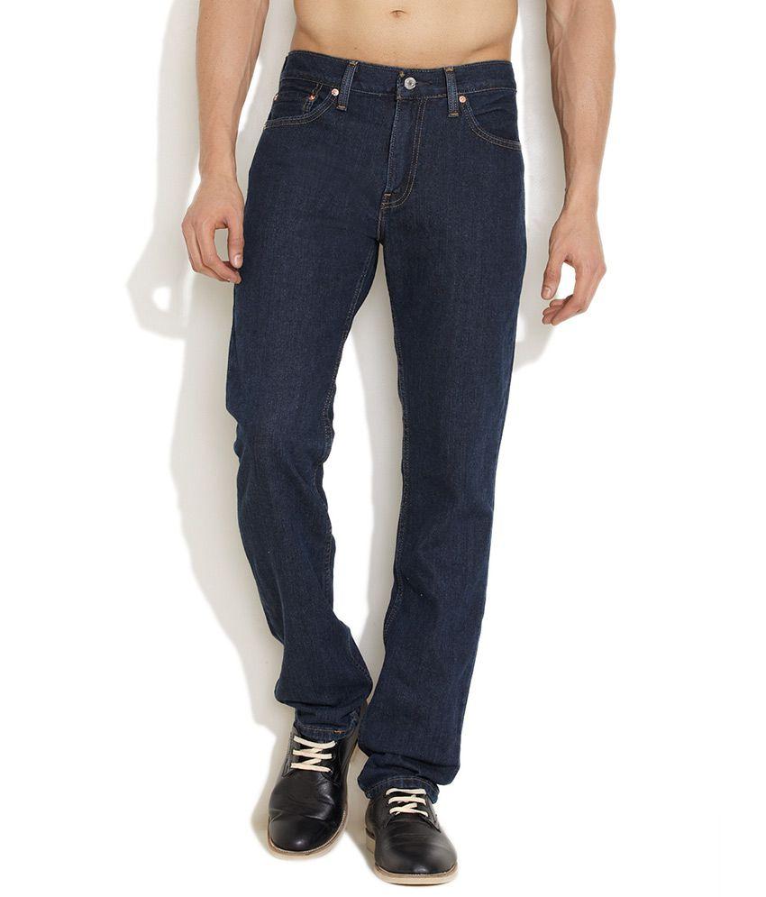 Levi's Dark Blue Live In Slim Fit Jeans