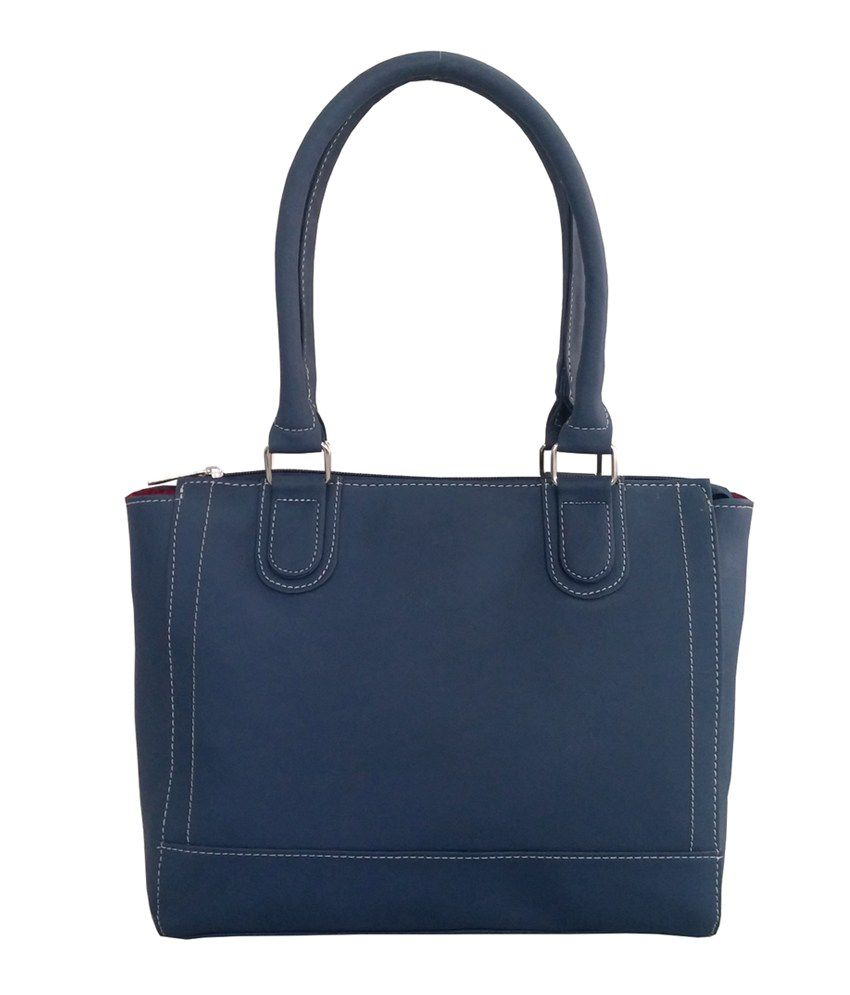 Toteteca Bag Works Blue Shoulder Bag
