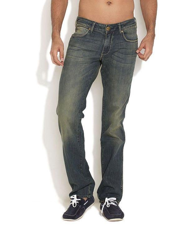 Wrangler Dark Blue Floyd Funk Jeans