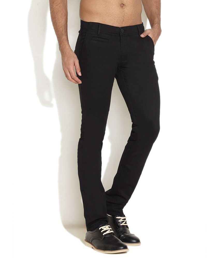Wrangler Black Saviour Chinos