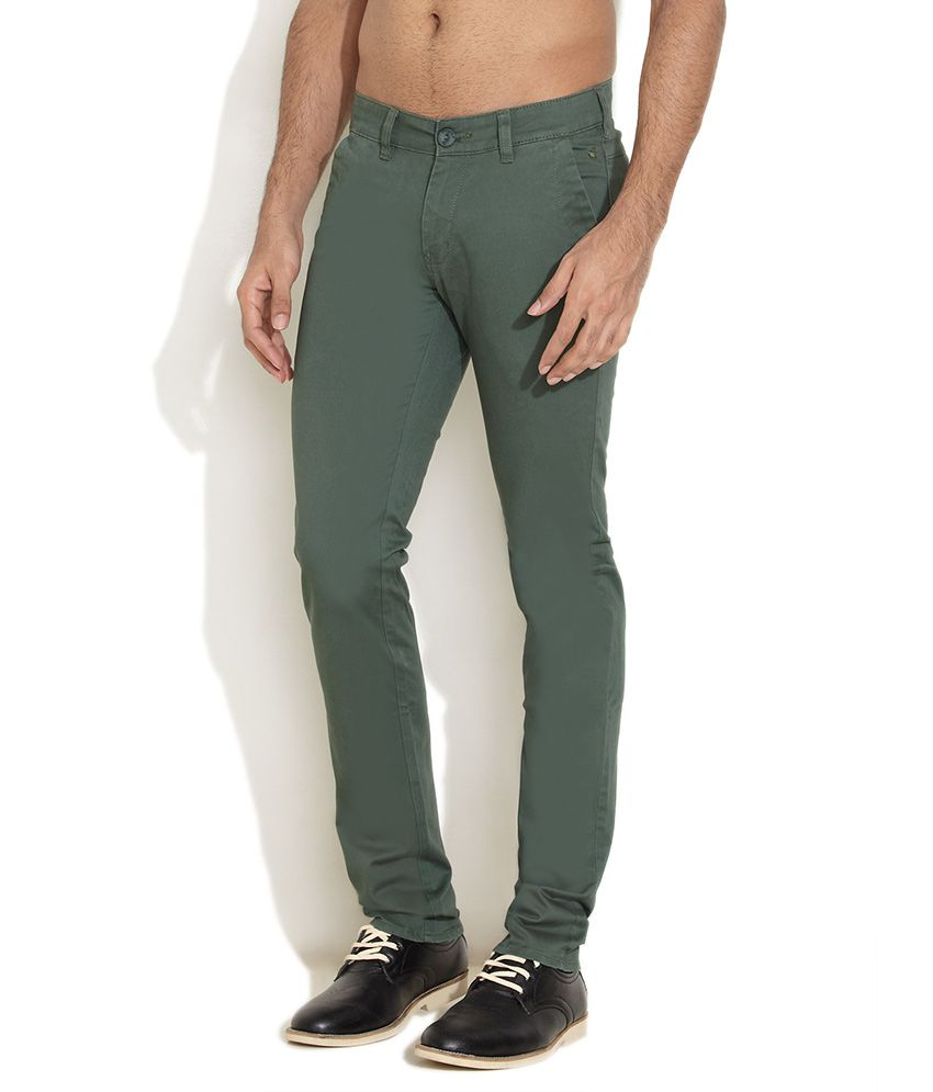 Wrangler Green Forest Fresh Chinos