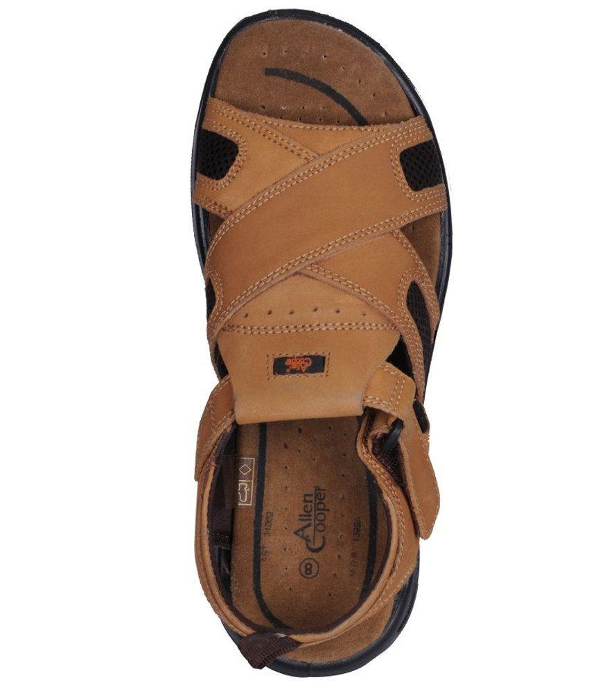 f9f51b1b9958 Allen Cooper Sandals For Men Price in India- Buy Allen Cooper ...