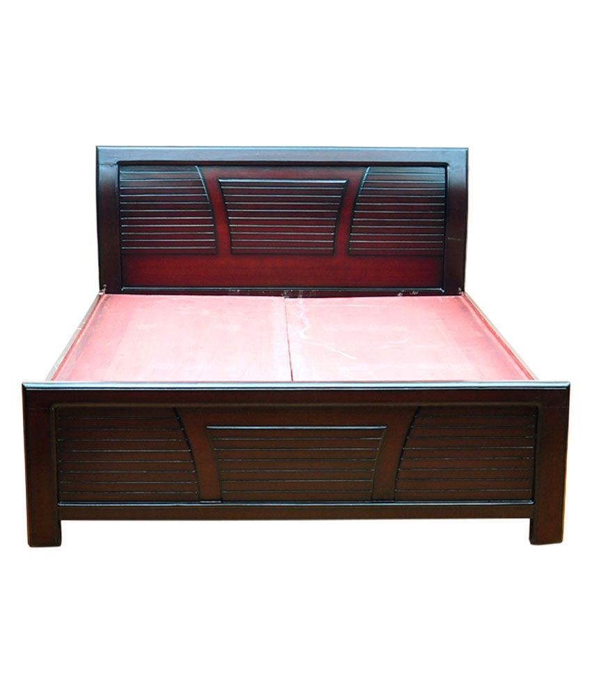 Siddhanth Furniture Multi Color King Size Wooden Cots With