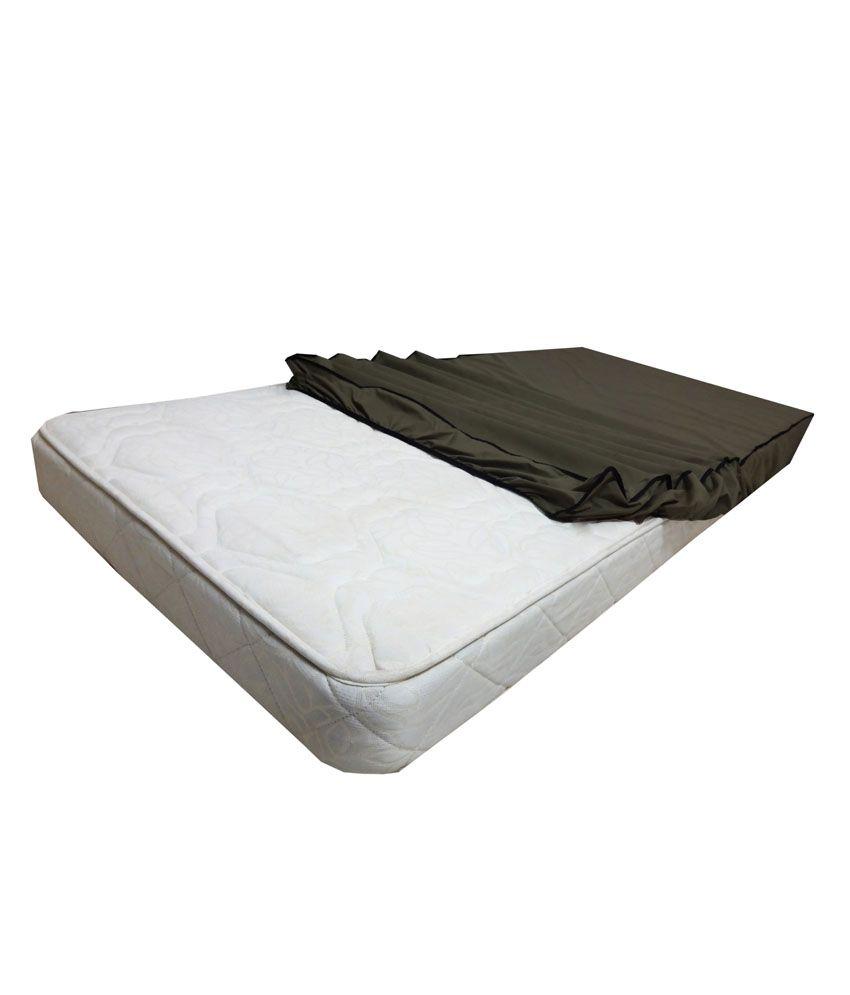 dream care mp 48x72 maz coffee brown poly cotton mattress protector