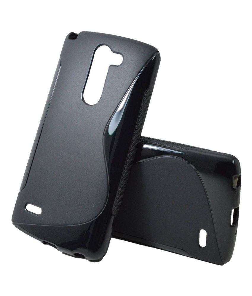 separation shoes 3f180 ee247 Indiacod Back Cover For Lg G3 Stylus D690 - Black