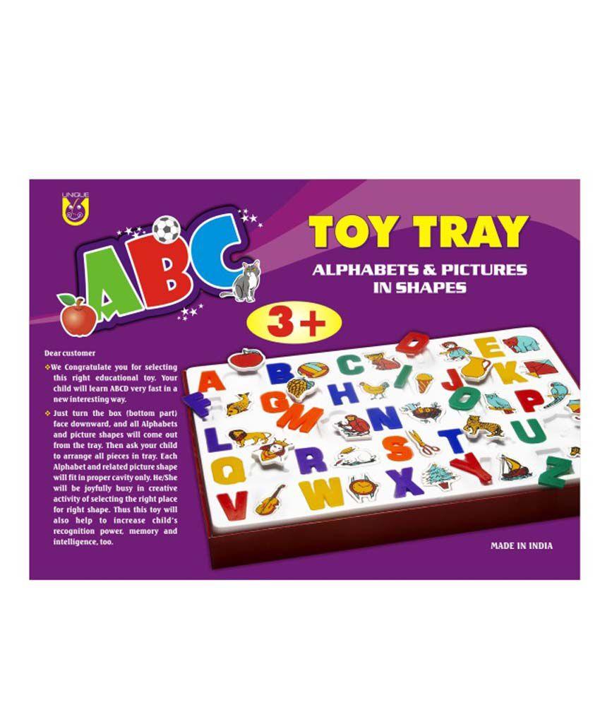 Abc Creation avec unique creation abc toy tray - buy unique creation abc toy tray