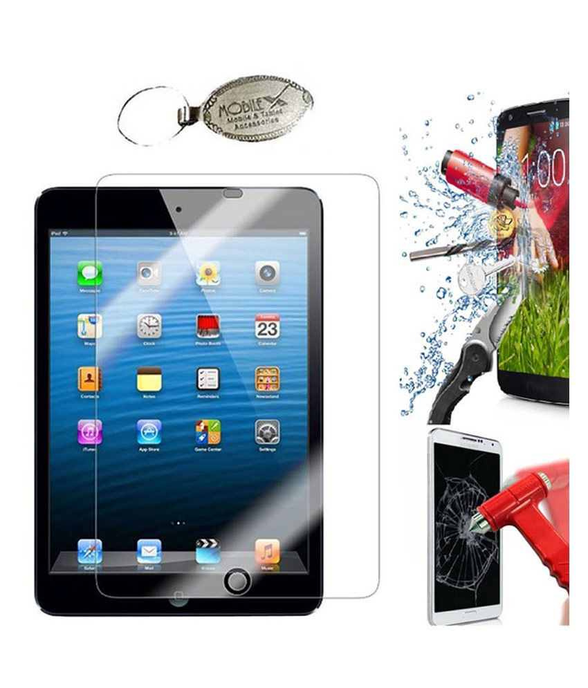 Naivel Screen Guard For Apple Ipad Air2 With Key Chain