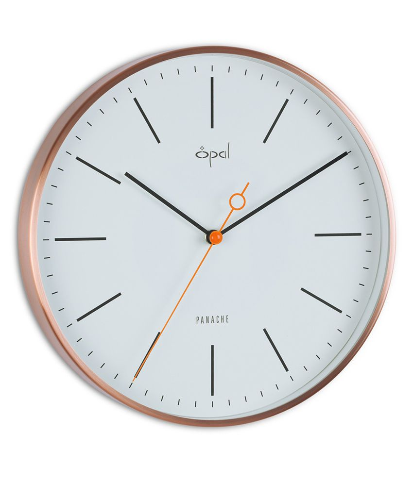 Opal designer wall clock copper buy opal designer wall clock opal designer wall clock copper amipublicfo Choice Image