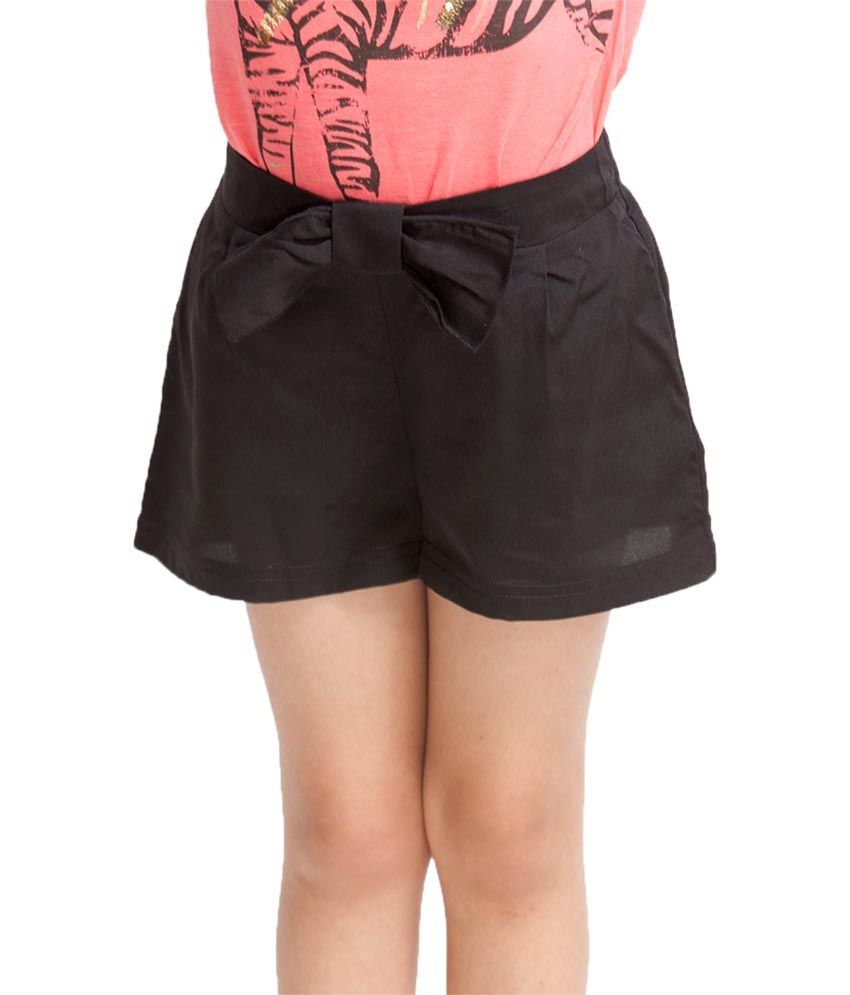Oxolloxo Black Solids Shorts
