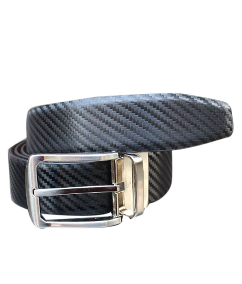Winsome Deal Leather Black Casual Belt