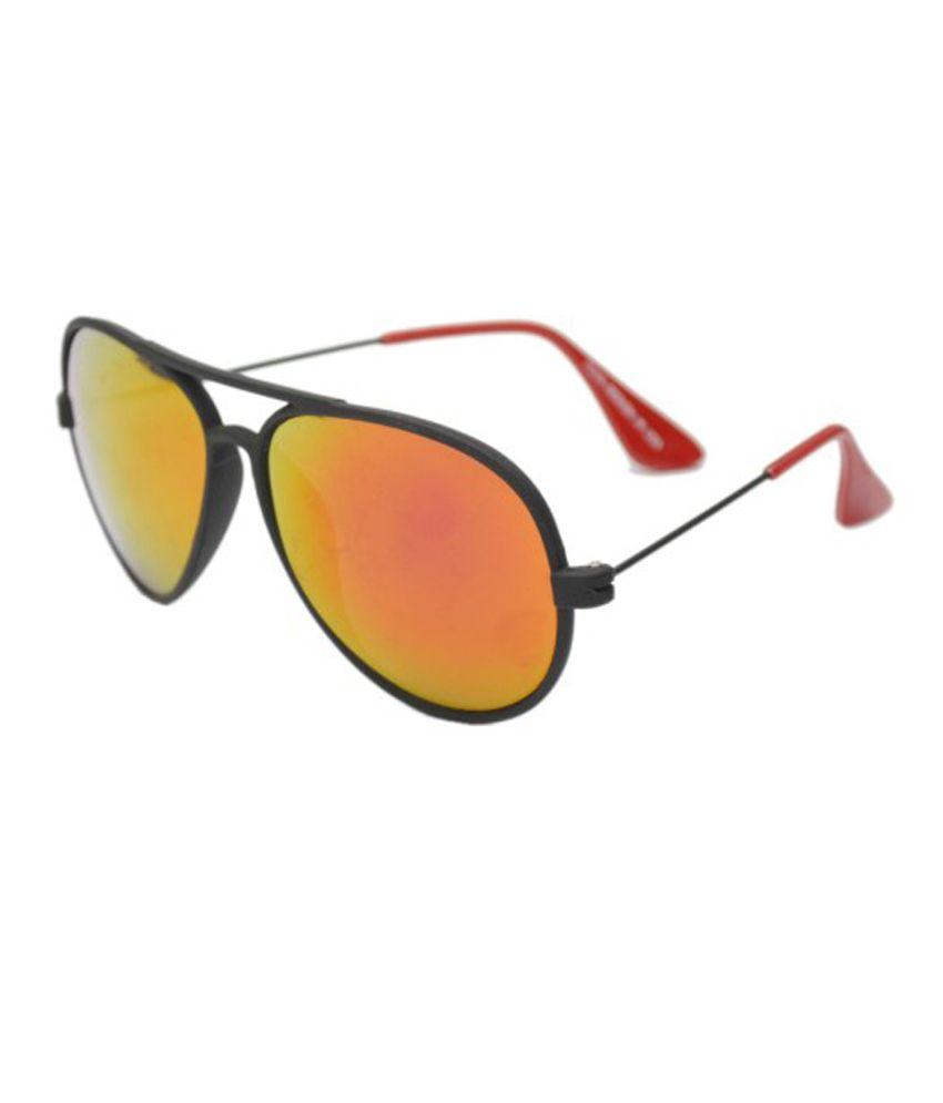Redb Multicolor Metal Round Casual Sunglasses For Men