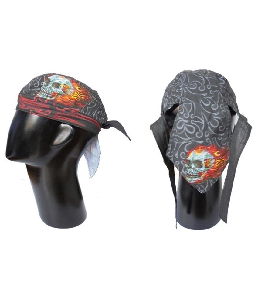 August Clothing Cotton Gs Skull Duggery Headwrap