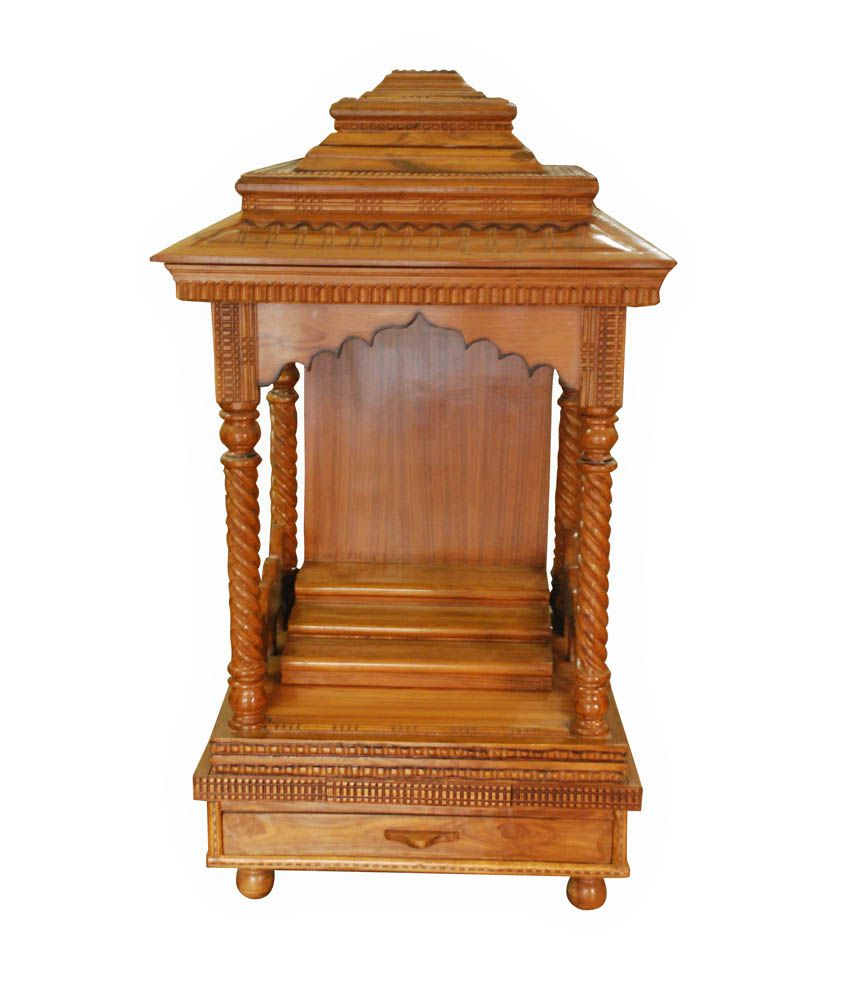 Shiv Furniture And Interiors Teak Wood Mandir Buy Shiv Furniture And Interiors Teak Wood Mandir