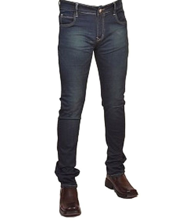 Yp Shirts Gray Cotton Men's Jeans