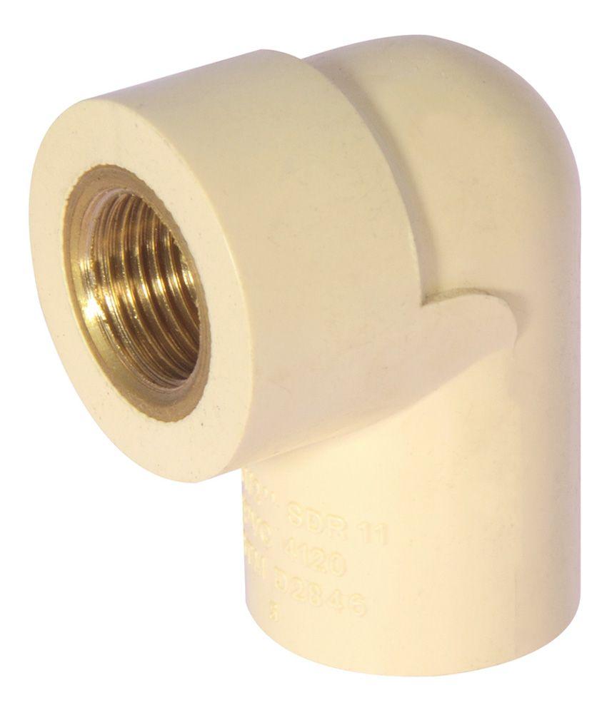Buy sagar cpvc fitting pipe brass elbow inch sdr