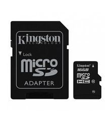 Kingston 16 Gb Micro Sd Card Class 10