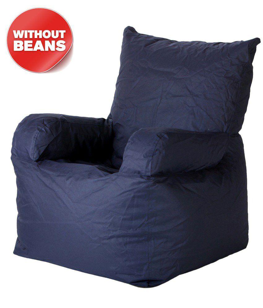 Biggie Bean Bag Arm Chair Xxxl Size Blue(only Cover) ...  sc 1 st  Snapdeal & Biggie Bean Bag Arm Chair Xxxl Size Blue(only Cover) - Buy Biggie ...