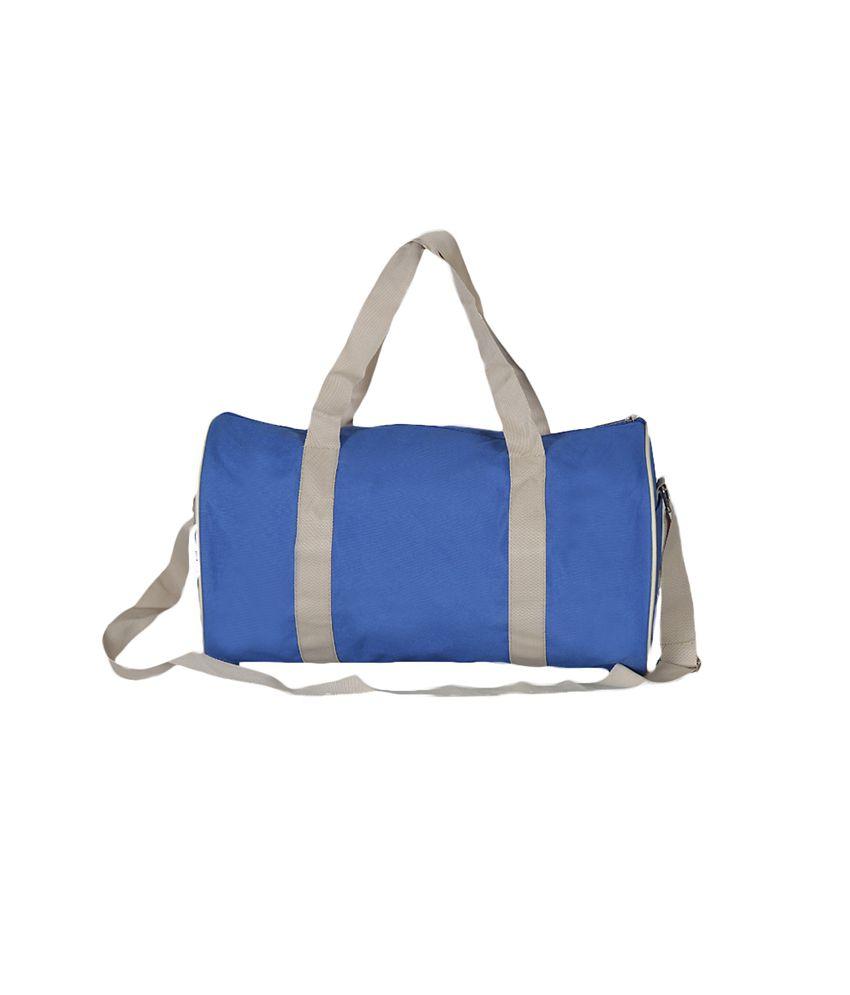 Aquamagica Royal Blue Canvas Duffle Bags
