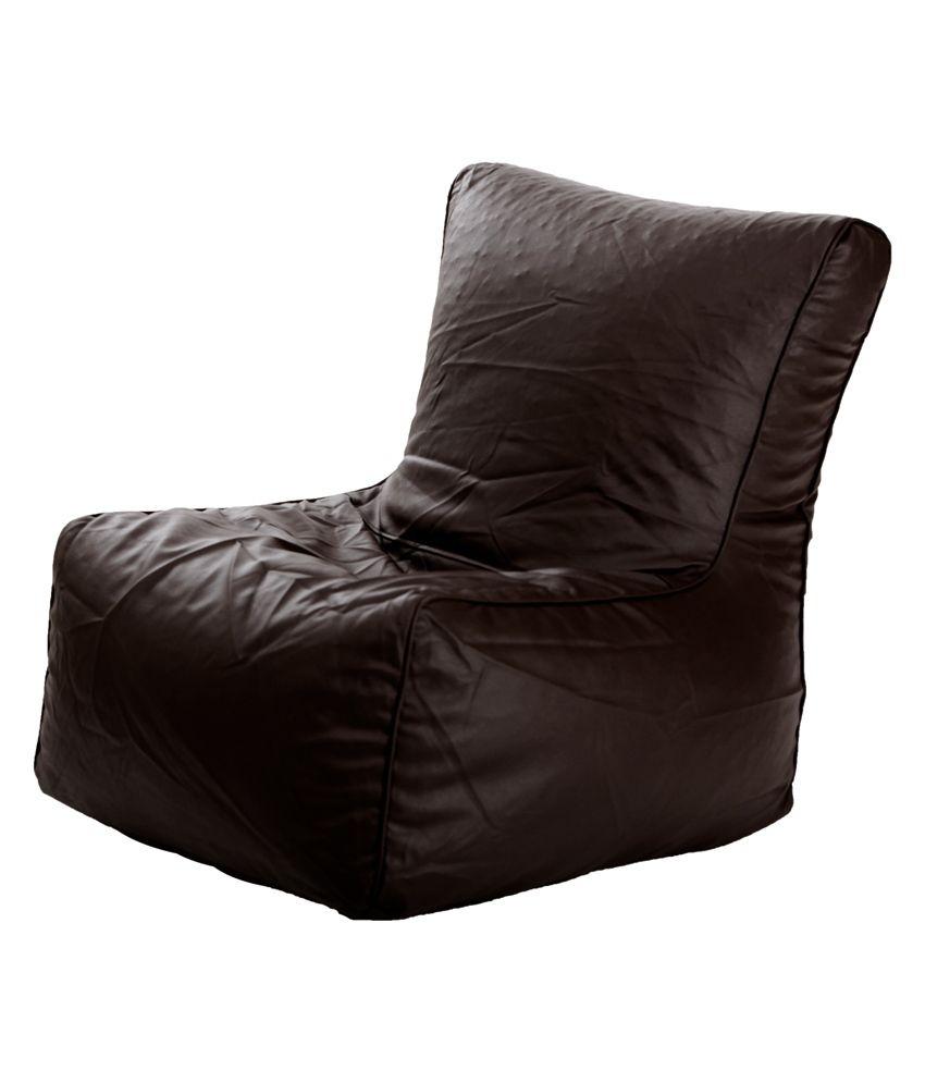 comfy bean bag biggie brown bean chair xl best price in